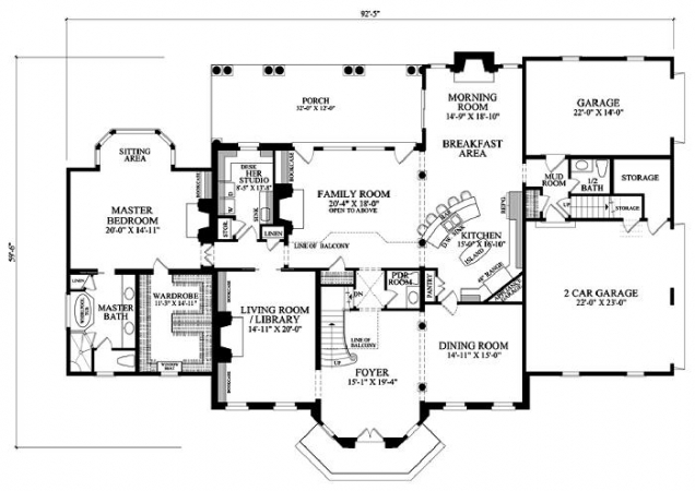 American dad house layout house best art for Typical american house plan