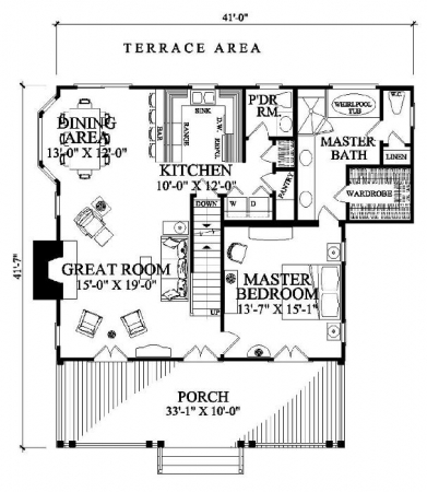 William E Poole Designs - Cajun Cottage