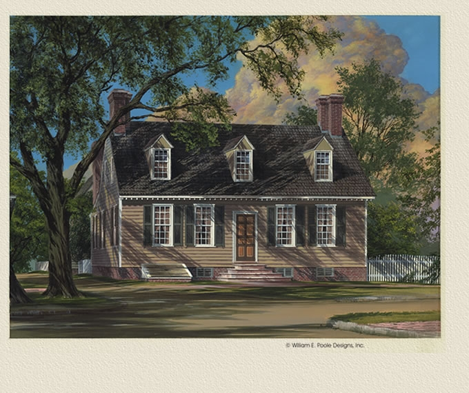 William e poole designs george pitt house for William poole homes